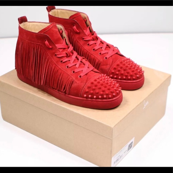 9c654858c8cf NWTS Christian Louboutin Louis Coachelito Sneaker